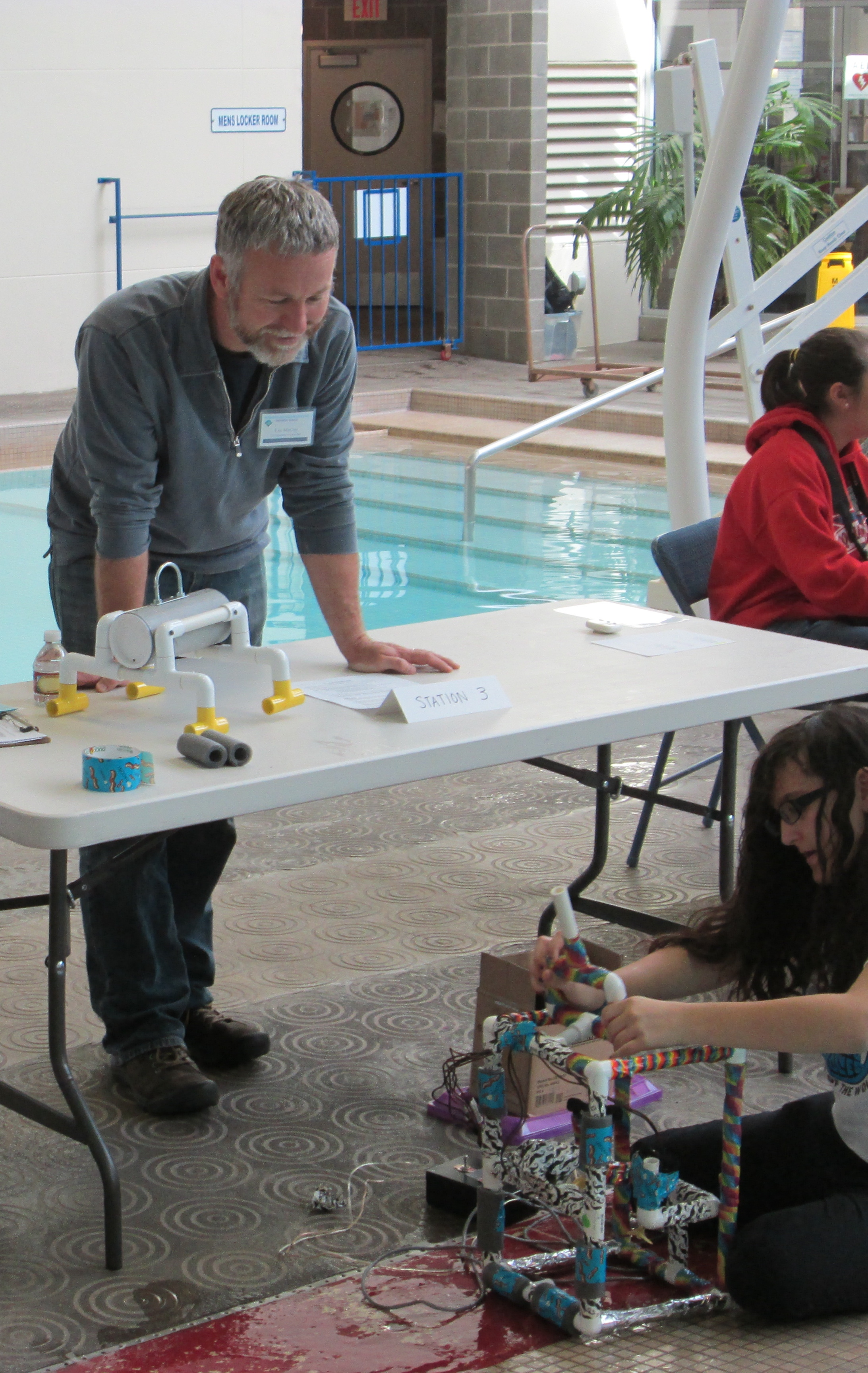 MATE ROV Competition Judge 2014