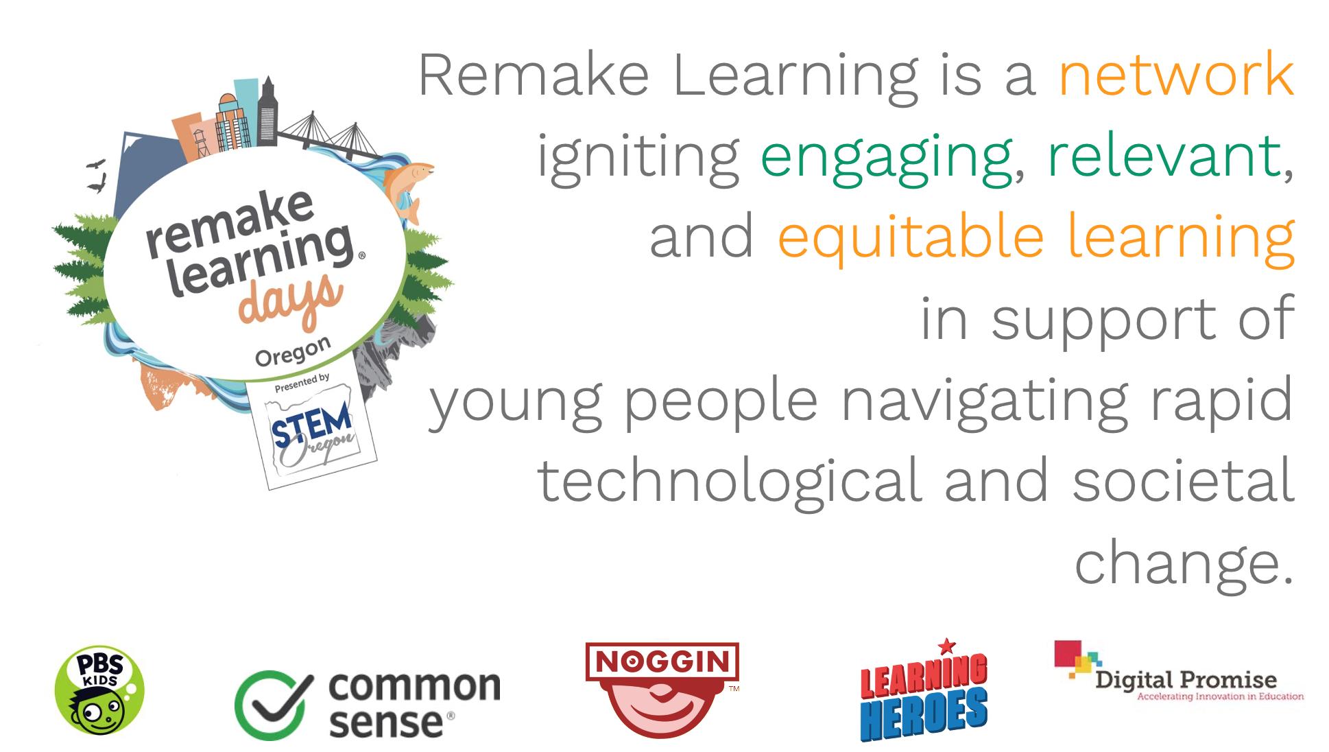 Remake Learning Days slide