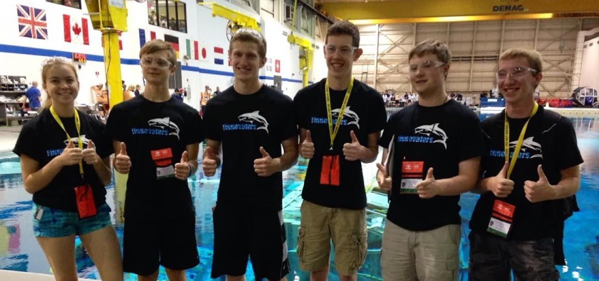 Finnovators RANGER team at the International Competition